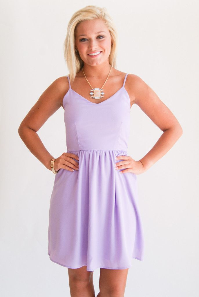 Cinched Waist Lilac Dress Spring Summer 2013 Lilac