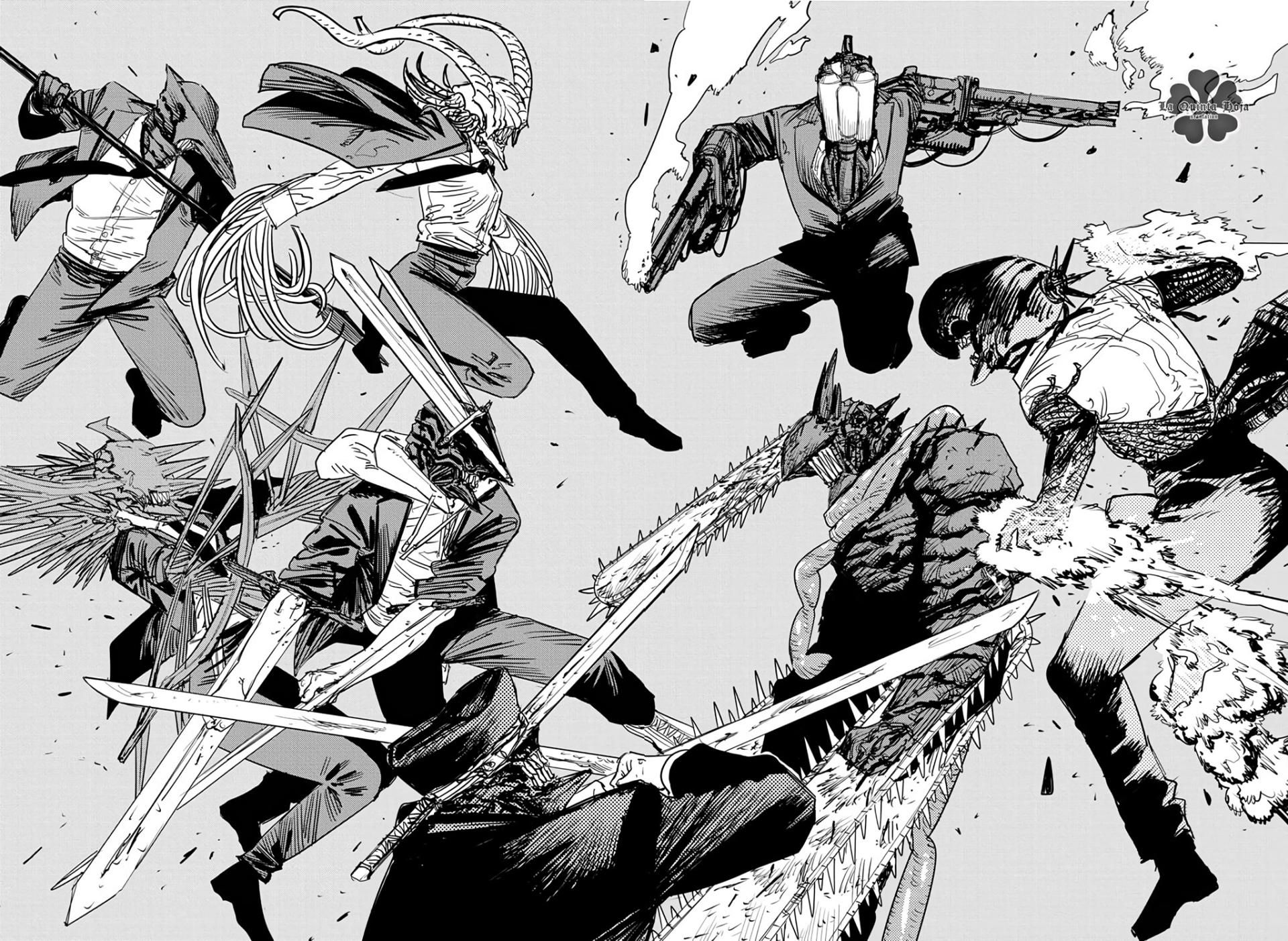 Chainsaw Man Cap. 87 - Pág. 3: Motosierra vs las horripilantes armas  humanas - Mangas.in | Chainsaw, Manga art, Manga anime one piece