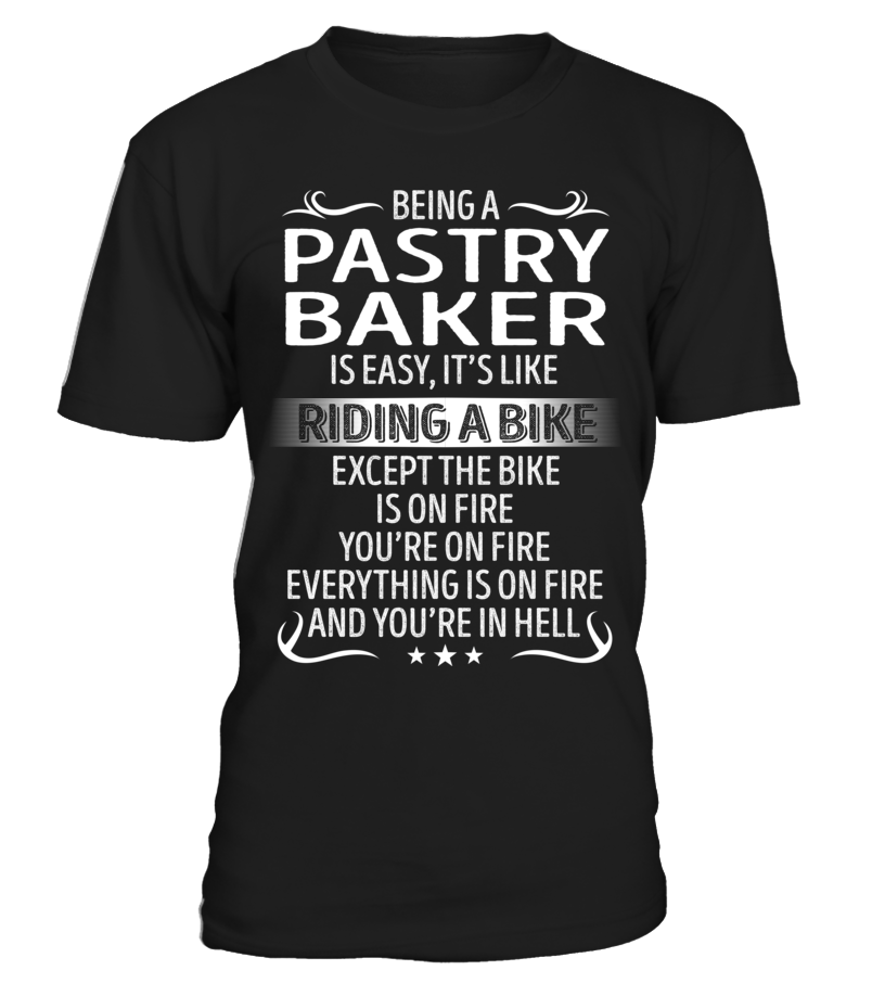 Being a Pastry Baker is Easy