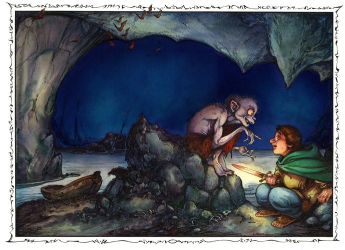 Riddles in the Dark.  For Hobbit/LOTR Party, play a riddle game!  Have guests bring riddles or make them up for others to guess.  Can also try to solve the riddles from the Hobbit - then see the movie to find out the answers.