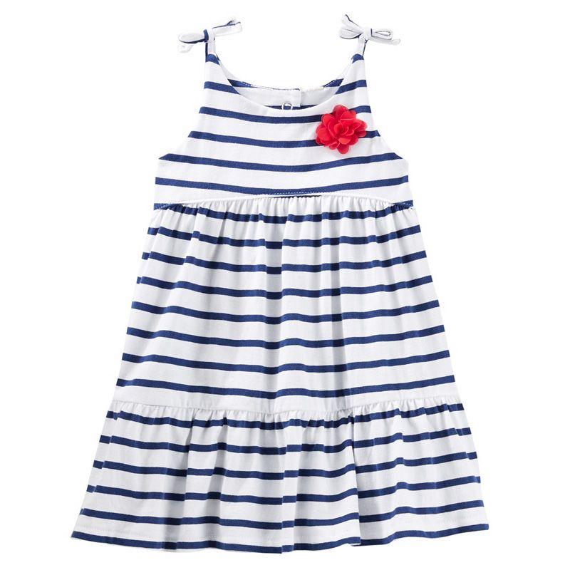 Girls Oshkosh Summer Dress barely Worn Age 4