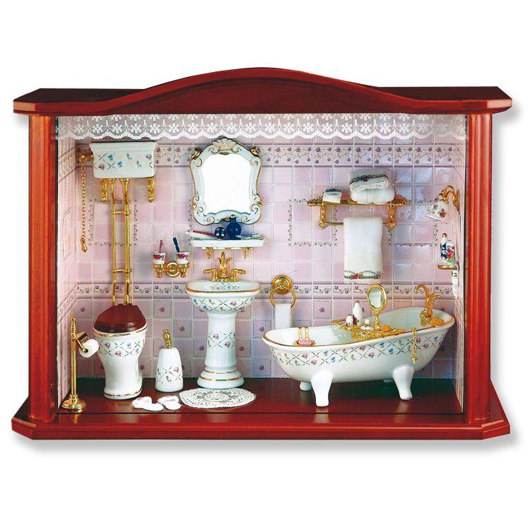 Superieur Large Bathroom Shadow Box Display