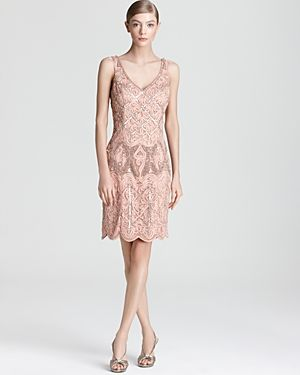 A hint of pink - a paler shade of red. Another fab frock from Sue Wong, £397.98