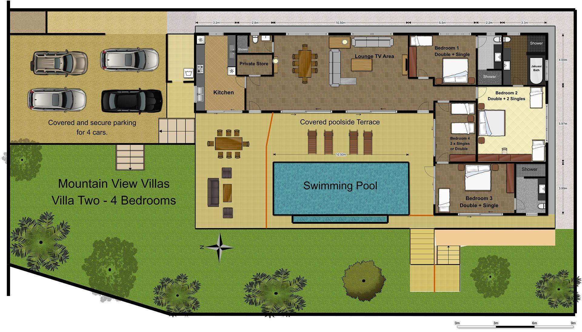 Floor Plans Mountain View Villas Phuket Floor Design Home Layout Design Design