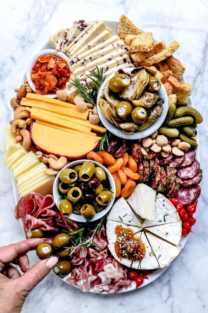 How to Make an Instagram-Worthy Charcuterie Board | foodiecrush .com #logicboard