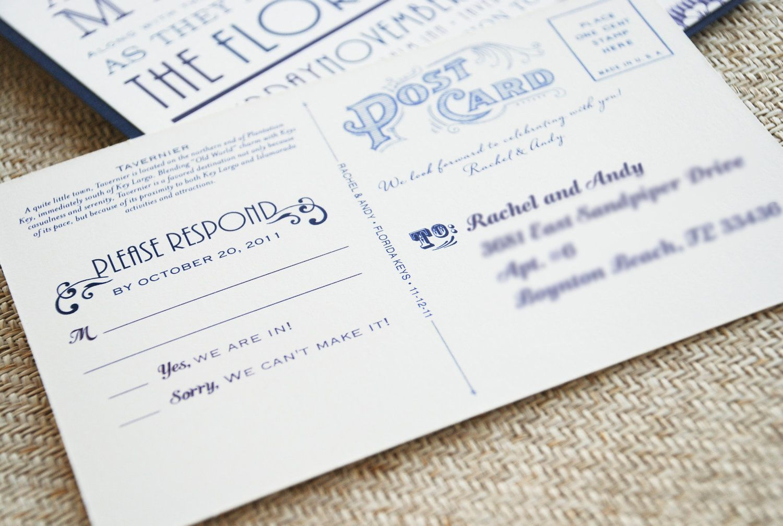 Vintage florida typography wedding invitation florida keys vintage florida typography wedding invitation florida keys design fee 4500 via stopboris Gallery