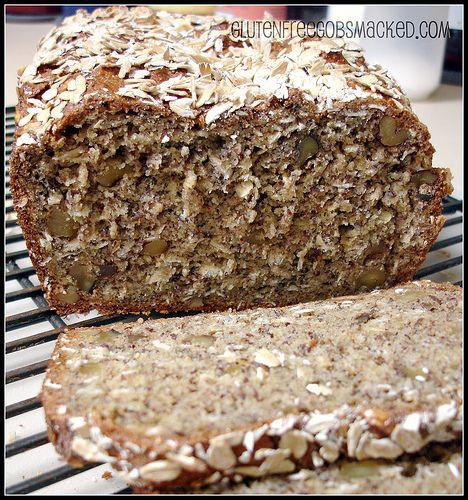 Gluten Free Banana Bread…Whole Grain, NO saturated fat! | Gluten ...