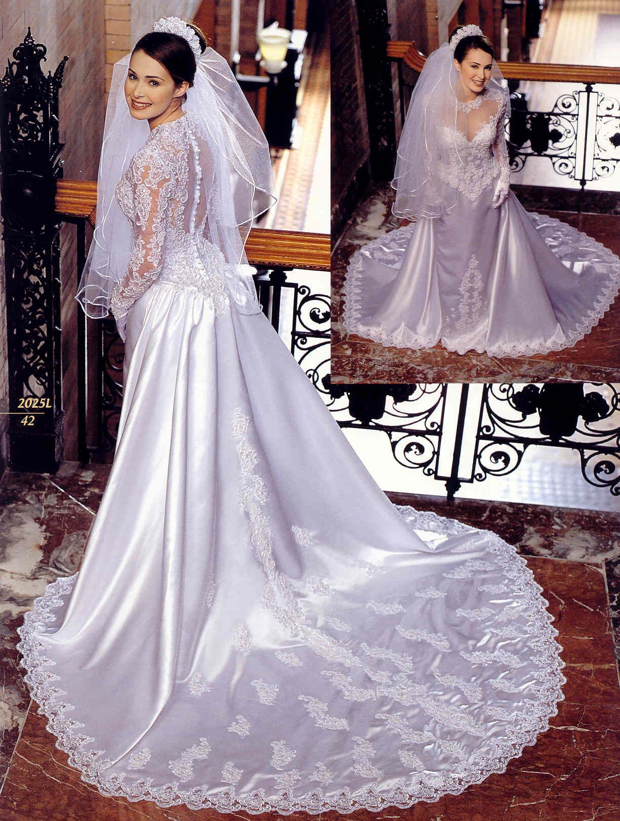 Same gown but with sleeves the veil is different than the one