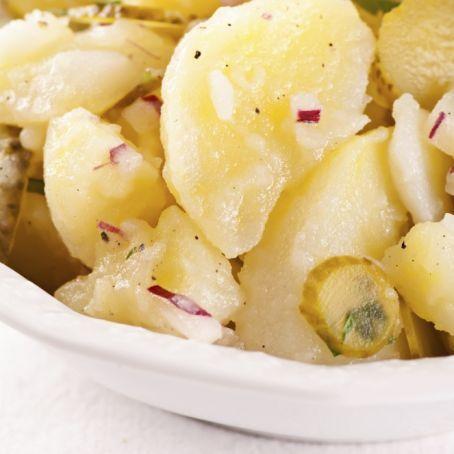 Hauptgericht Kartoffelsalat Mit Essig Und öl Potatoes Potato