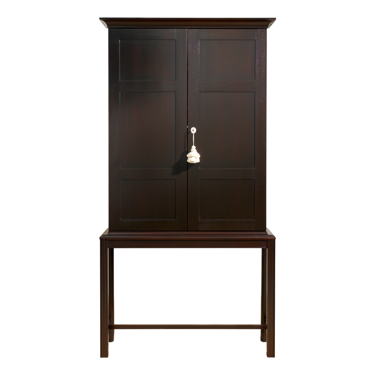 Maxine Snider Inc. Bibliotheque Mahogany Cabinet Front US$5690