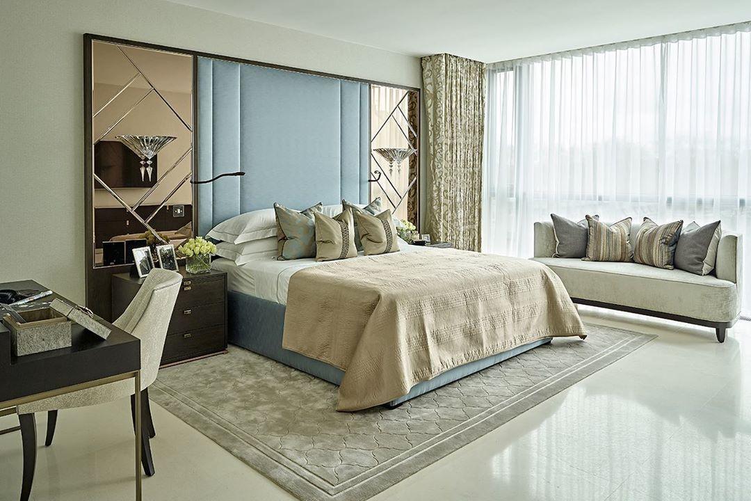 "Interior Design ▪️ Home Decor on Instagram: ""Follow @olla_home for more inspiration❤️ Design: @jhrinteriors . . . . . #masterbedroom #bedroominspo #bedroomgoals #bedroomdesign…"""