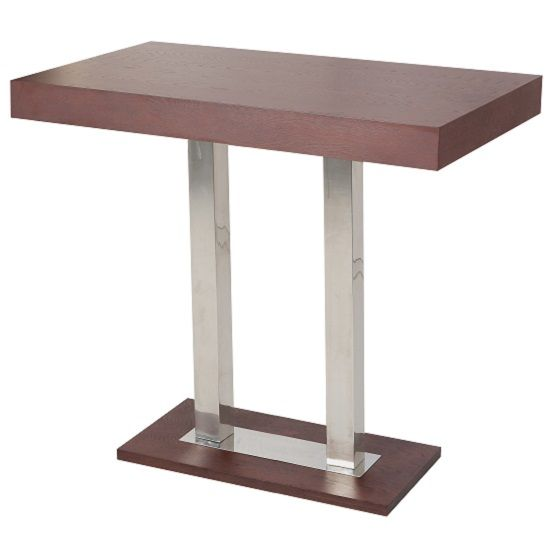 Caprice Bar Table Rectangular In Wenge