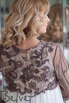 Natalia Kononova Belvet Designer Cappucino Bolero Motifs on Ravelry, Irish crochet lab and  Published in Zhurnal mod magazine #555