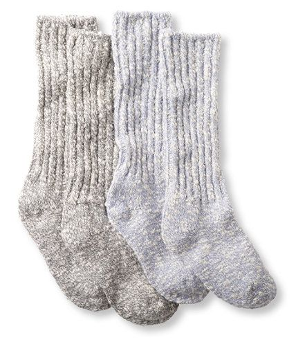 Women S Cotton Ragg Camp Socks Two Pack Camp Socks Ll Bean Socks High Knee Boots Outfit