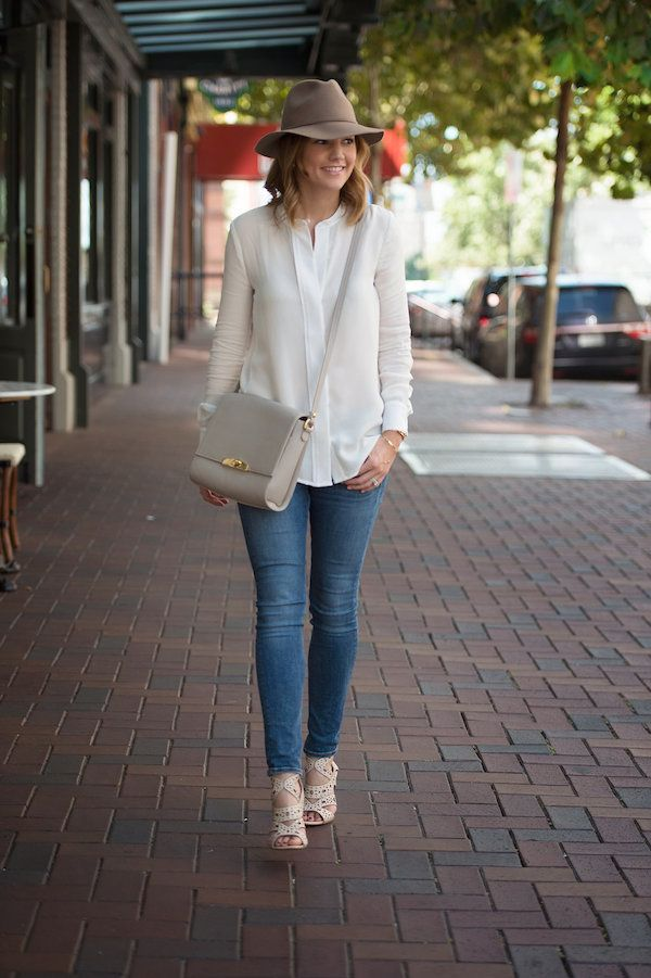 238d24c9d3b Street Style · Cuyana Silk Blouse 6 Spring Fashion
