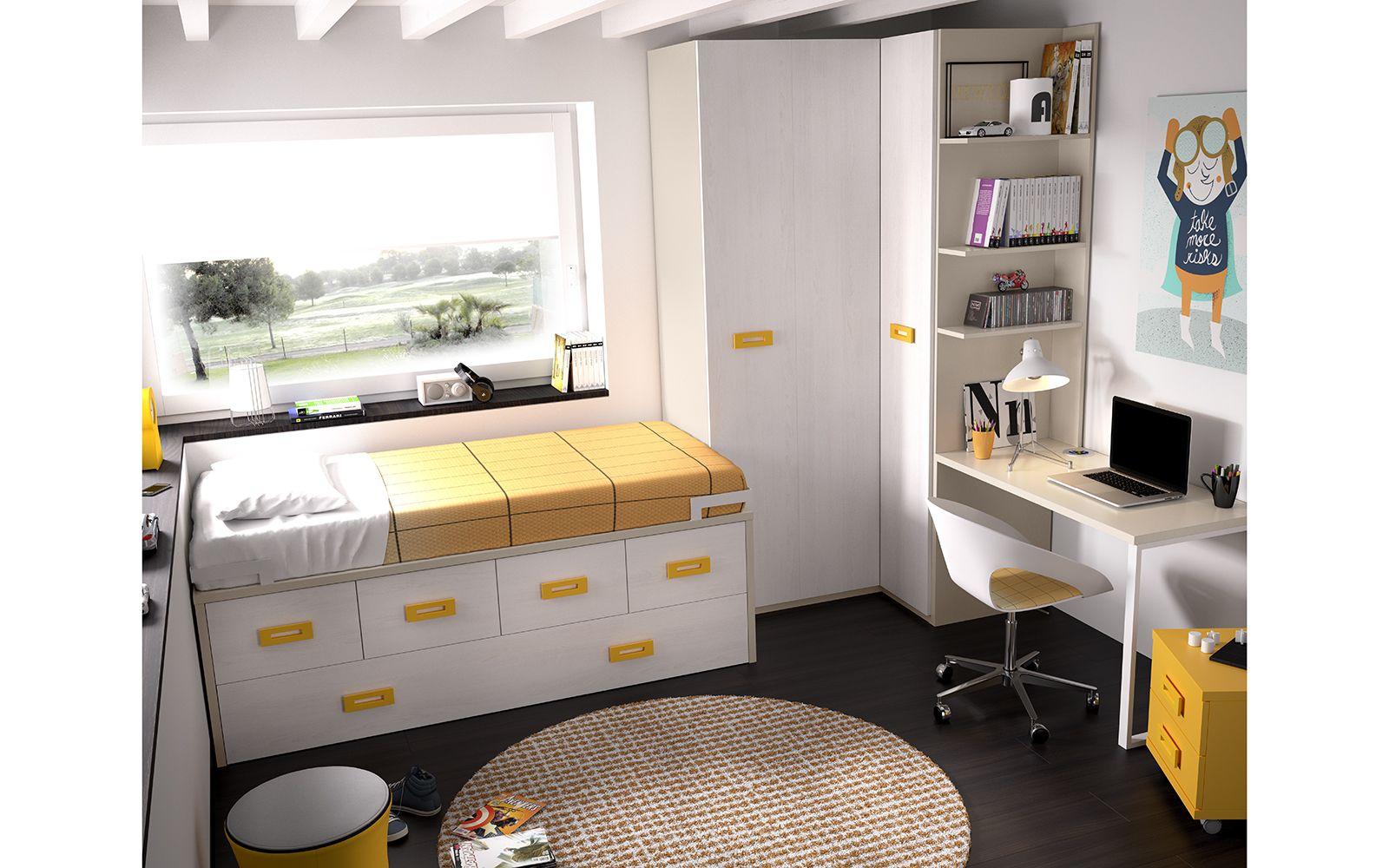 Nuevo Dormitorio Juvenil Compacto 2014-15