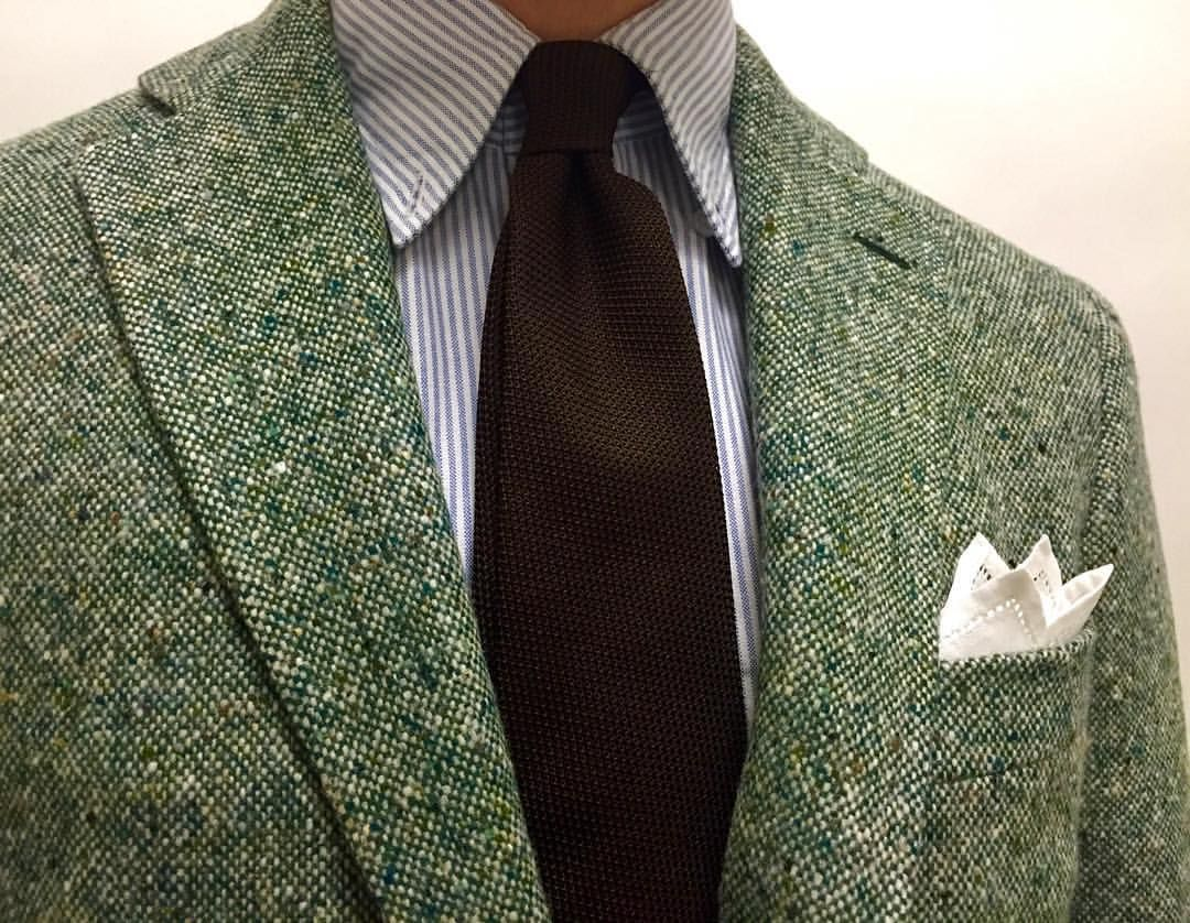 0f94544a1e58 Our new Donegal jacket, with Oxford & Grenadine #drakes | My Style ...