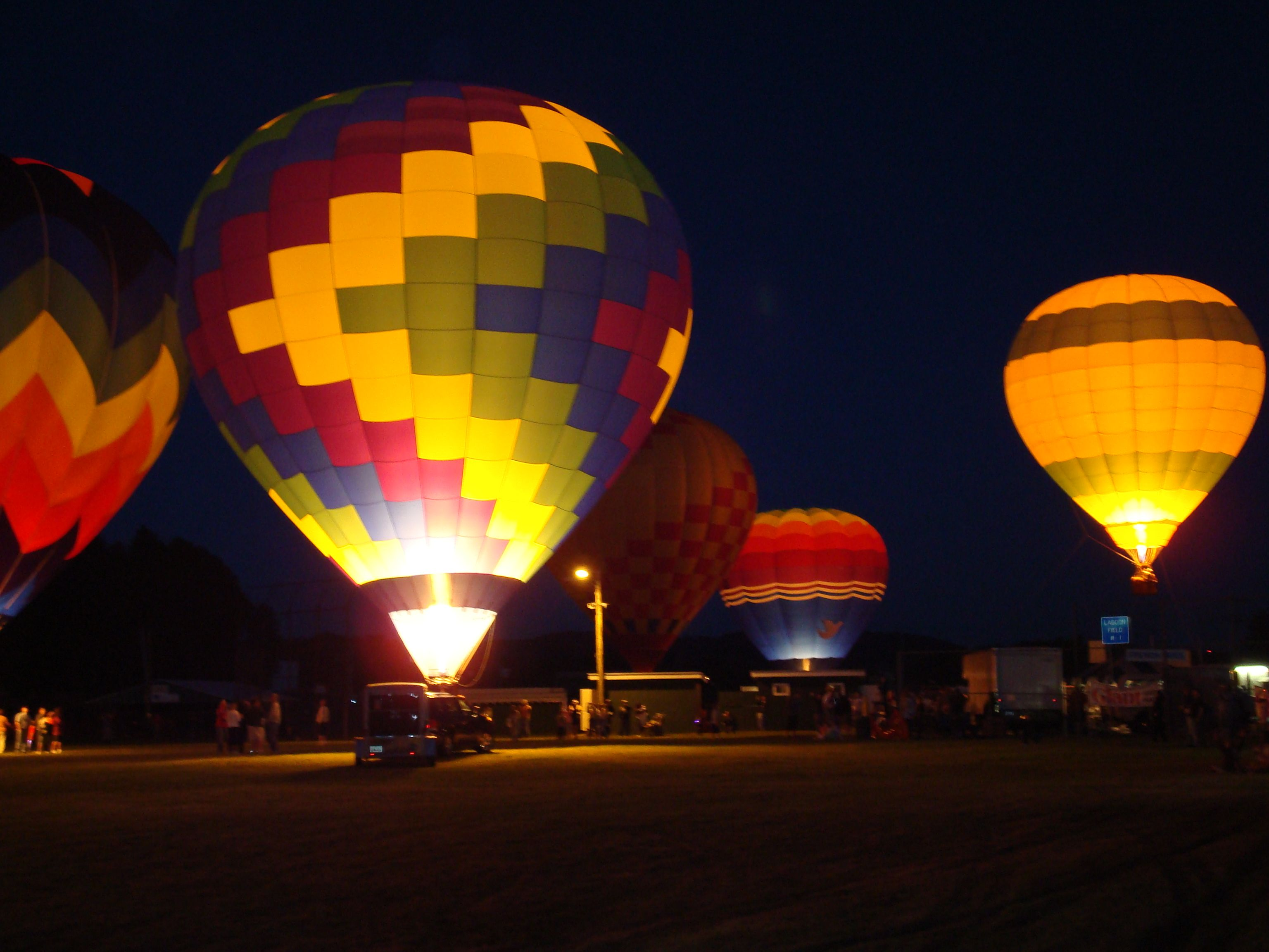 Wellsville NY Hot Air Balloon Festival Fun places to