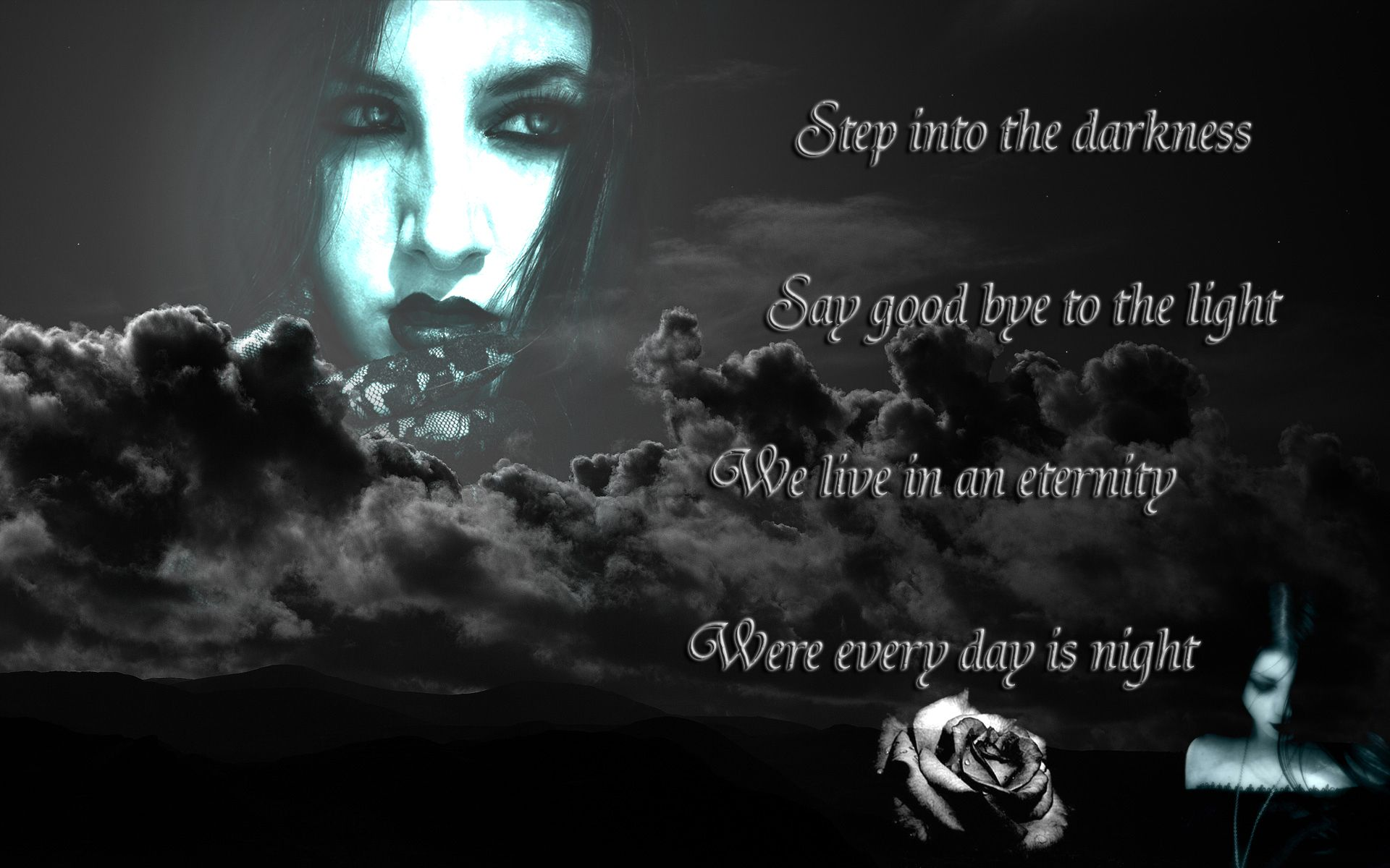 Depth Of Darkness Dark Evil Vampire Quotes Gothic Quotes
