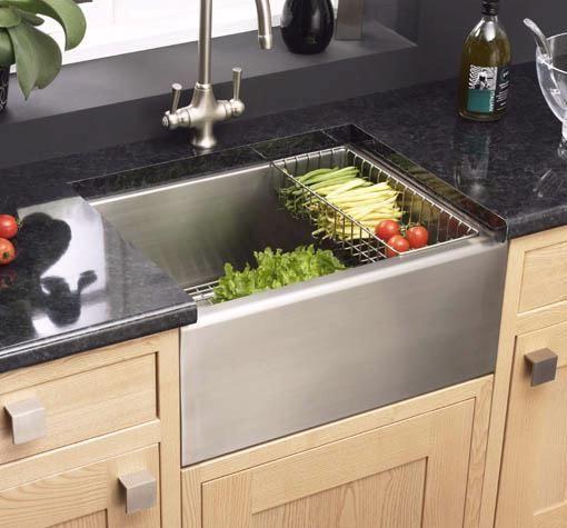 kitchen sinks | Sink A-BELFASTS Belfast stainless steel 1.0 bowl ...