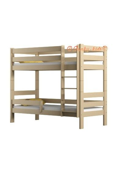 lit superpos en bois massif casper 160x80 cm 380 hors livraison matelas et titoir 49 en. Black Bedroom Furniture Sets. Home Design Ideas