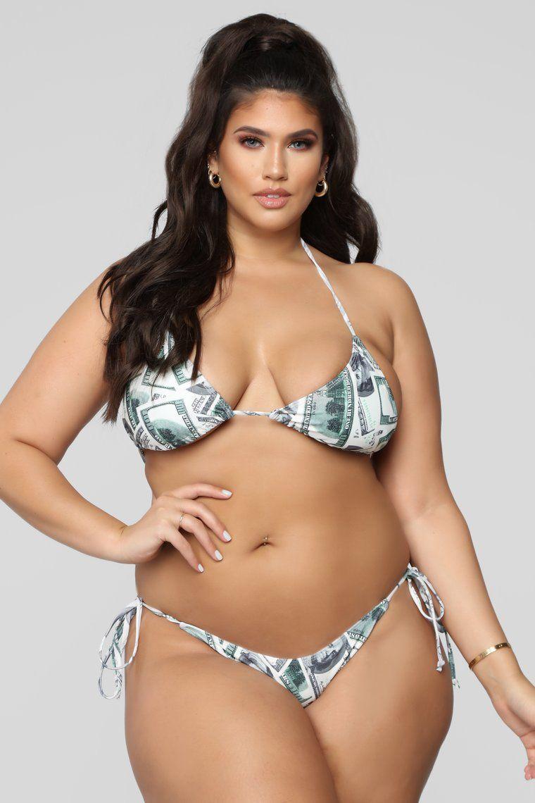 Make Money Moves Bikini Green Multi in 2019