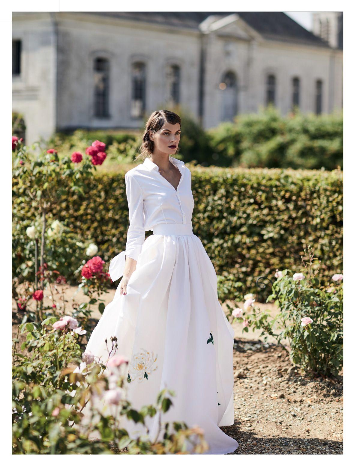 Carolina Herrera Bridal In Brides Uk Carolina Herrera Bridal Wedding Dress Shirt Wedding Skirt
