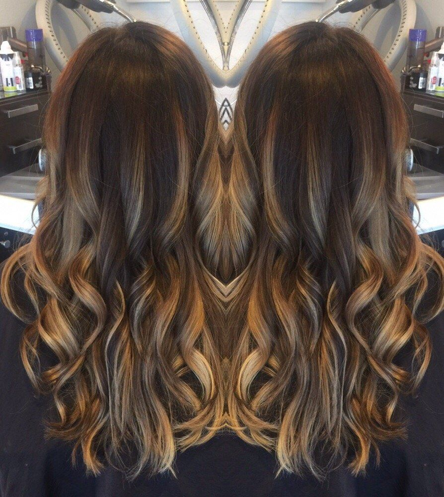 Bronde Balayage! All hand-painted, Bright Blonde Highlights & rich ...