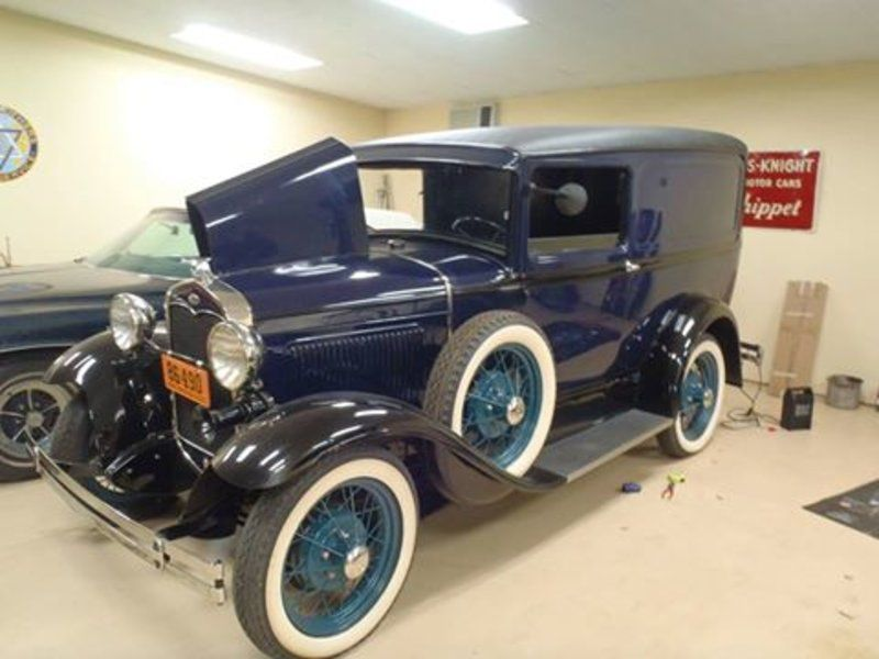 1931 Ford Model A Panel Van (CO) - $28,000 Please call Howard @ 970 ...