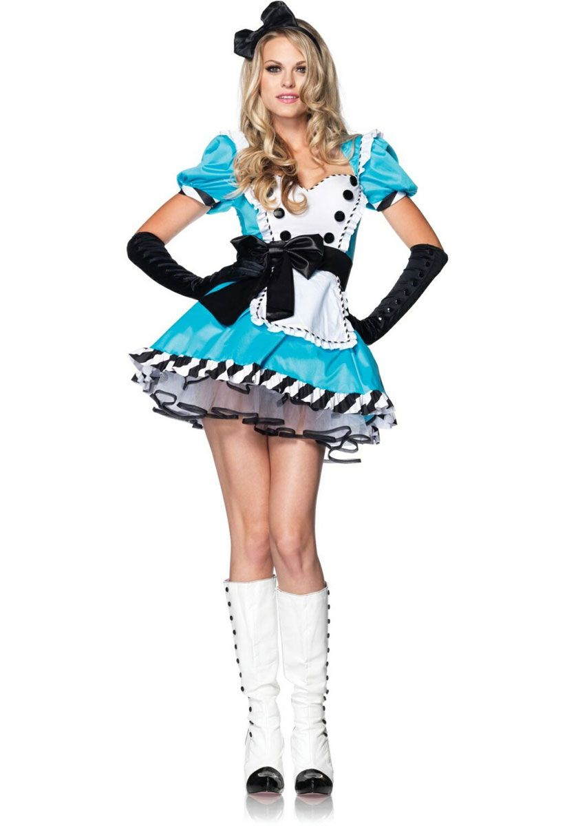 Alice Charming Costume - Leg Avenue - Alice in Wonderland Costumes at  Escapade UK - Escapade Fancy Dress on Twitter   Escapade UK 032361959b67