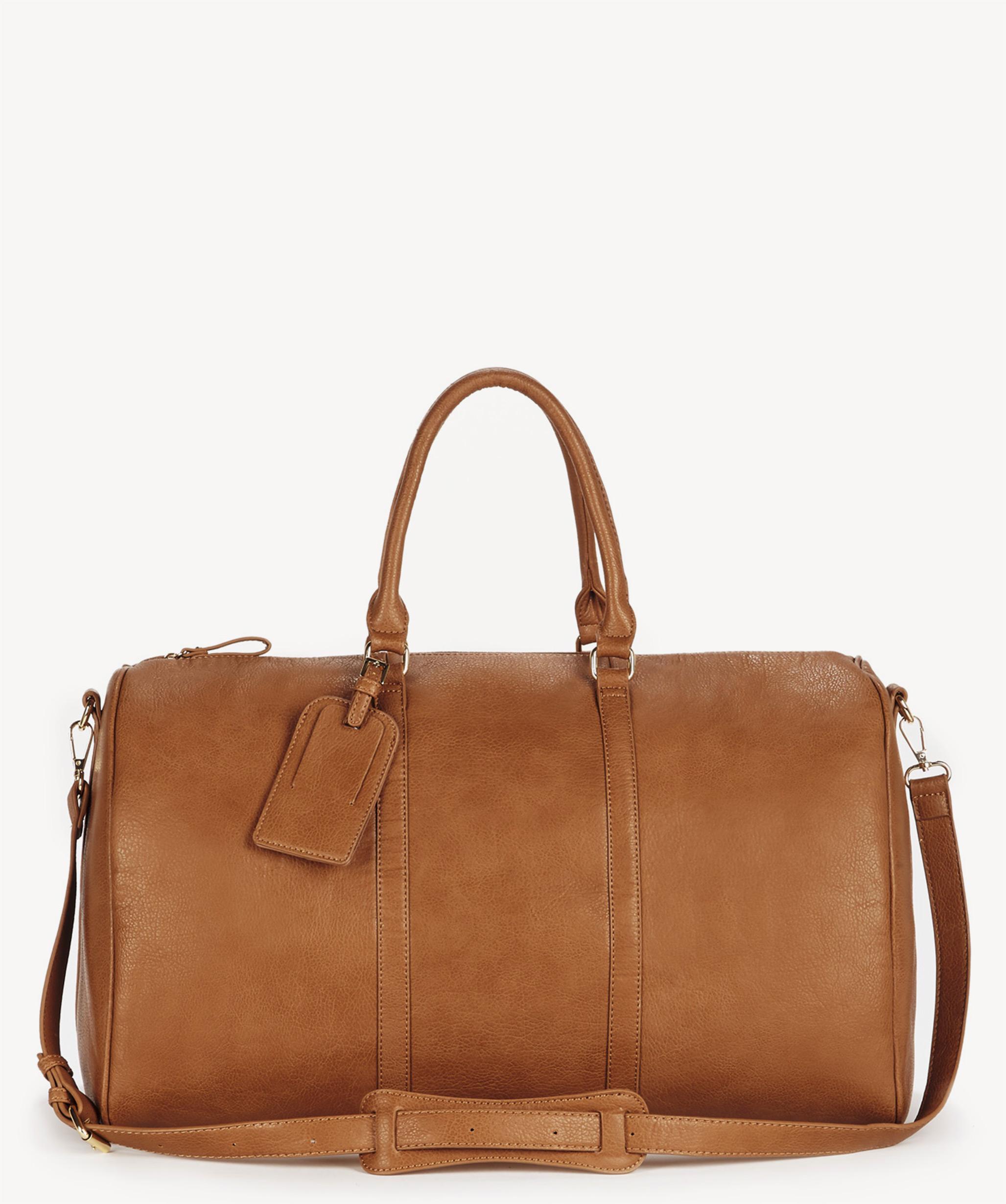 9047e81903 Women s Lacie Vegan Weekender In Color  Cognac One Size Bag
