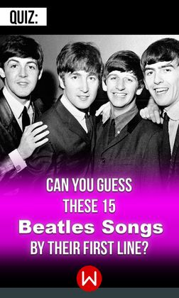 Quiz: Only True Fans Can Name These 15 Beatles Songs By