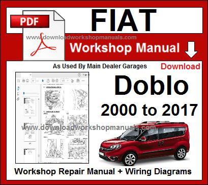 Manualul De Reparații Al Atelierului Fiat Doblo Fiat Doblo Repair Manuals Fiat