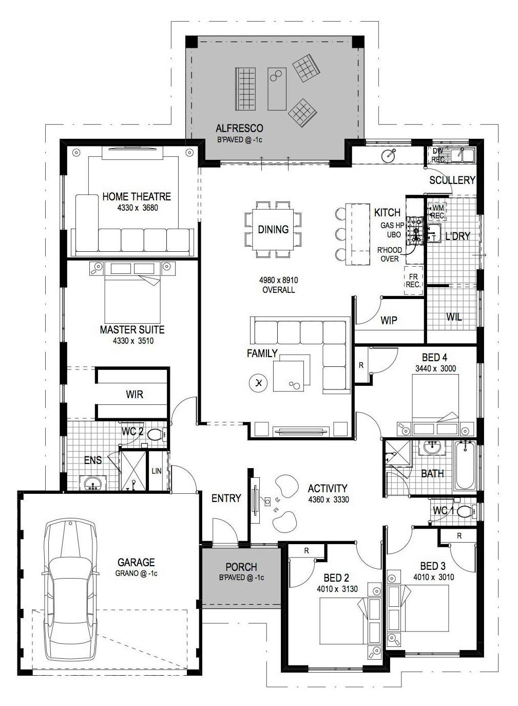 Cheap Home Builders Perth Wa Home Designs New House Plans House Blueprints How To Plan