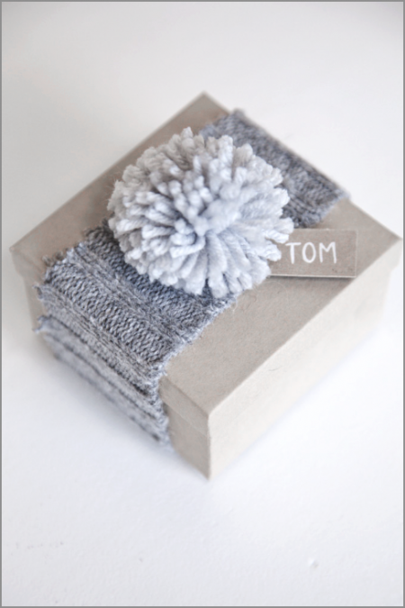 another sweater wrapping idea