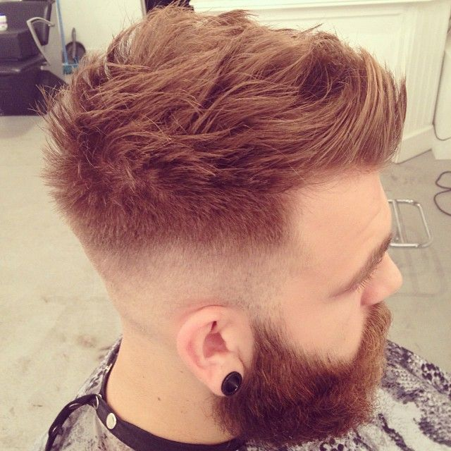 Woah This Is A Sick Fade Faux Hawk Hairstyles Haircuts For Men Mens Hairstyles