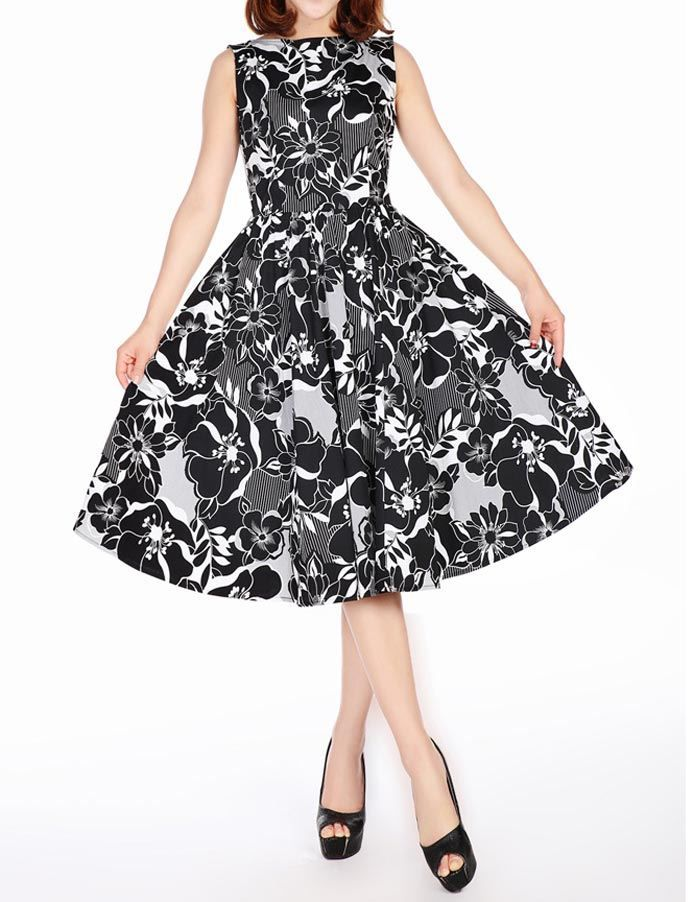 Sleeveless Dress - Kleider - Vintage-Style - Ars-Vivendi ...