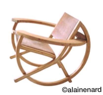 Fauteuil design bambou bamboo chair #fauteuil #design #interior