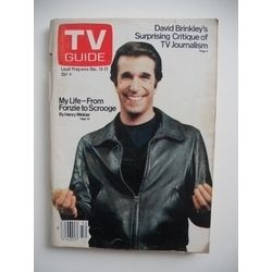 The Fonz...and a TV Guide!
