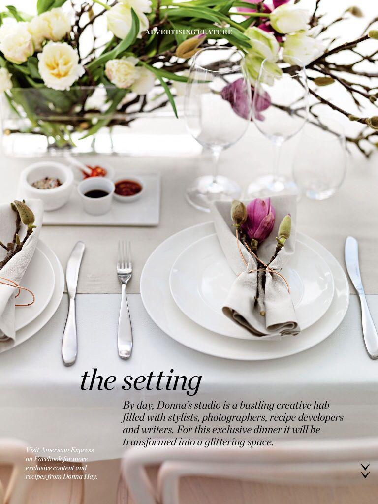 Donna hay set a place | t a b l e | d e c o r | Pinterest