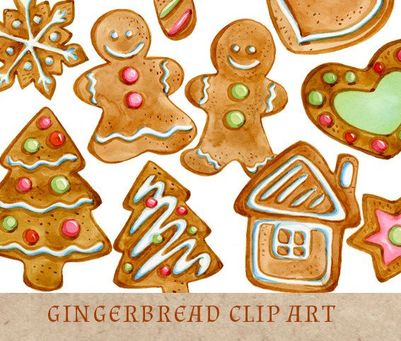 Baking Christmas Cookies Clipart.Gingerbread Cookies Clipart Christmas Clip Art Gingerbread