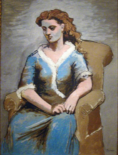 Woman Seated in Armchair, 1923 | The