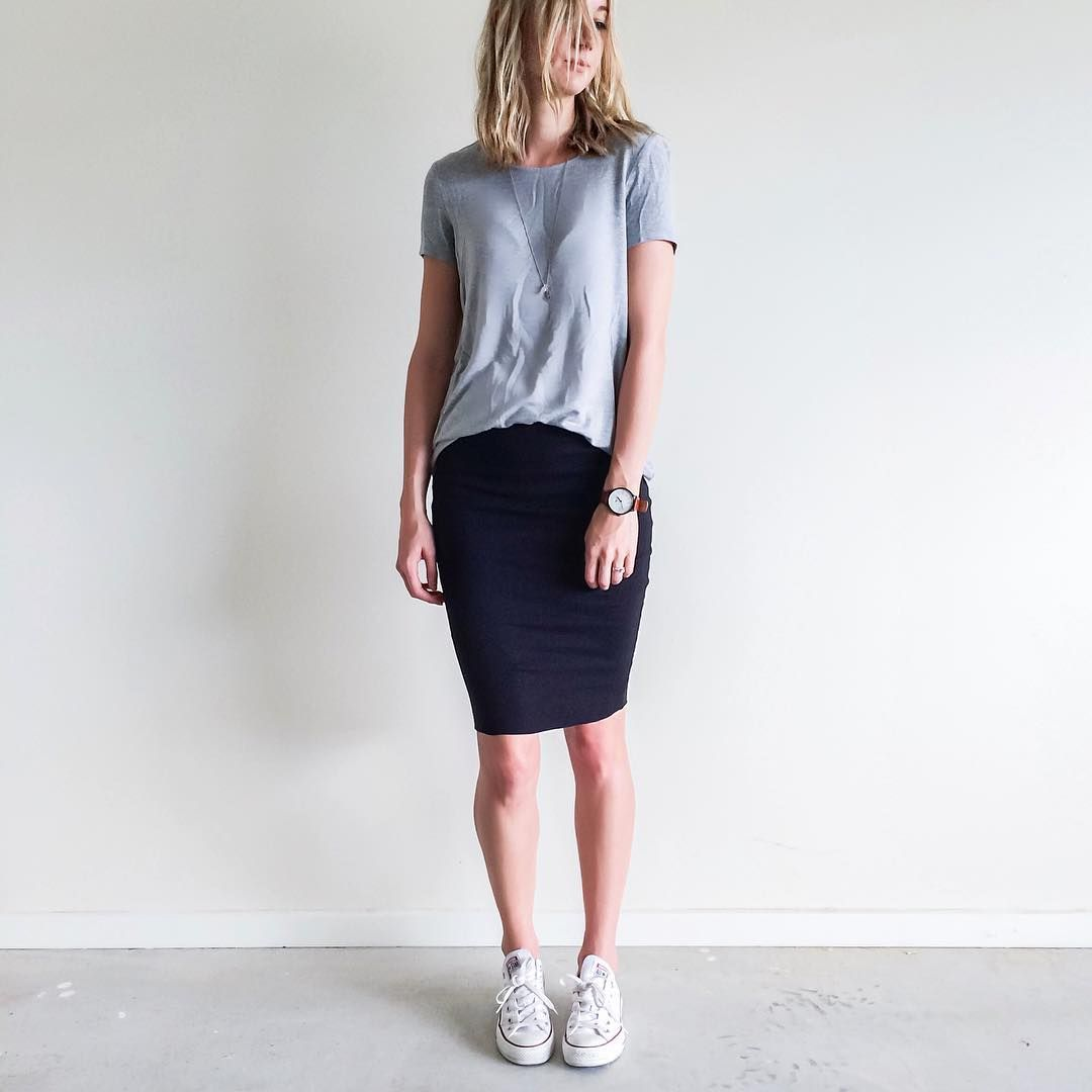 FOLLOW @jayde_archives On Instagram. Outfit Inspiration Work Basics. Witchery Grey Tee Black ...