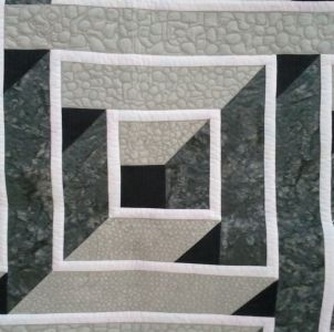 how to make a labyrinth walk quilt