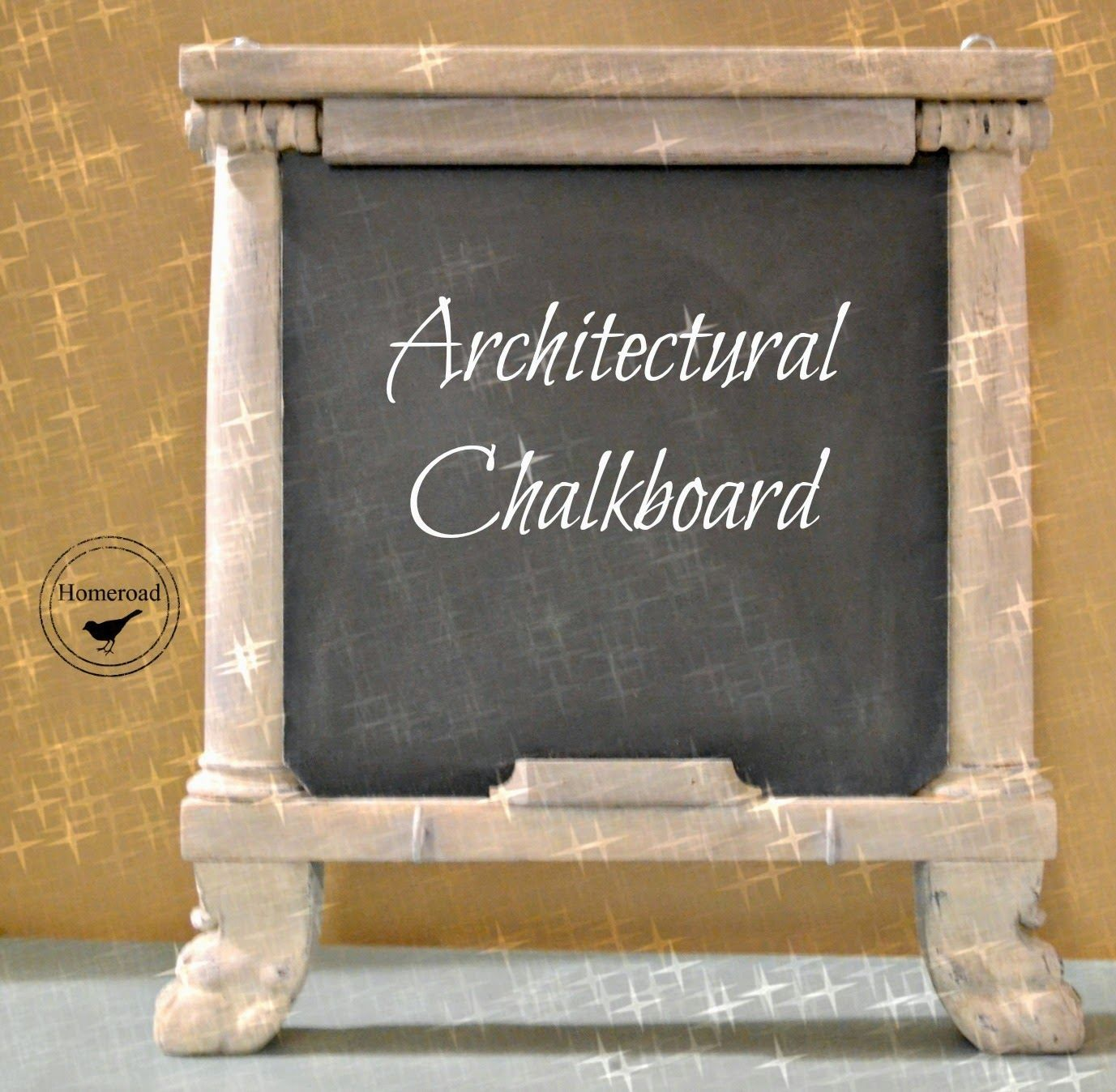 Repurposed Architectural Chalkboards