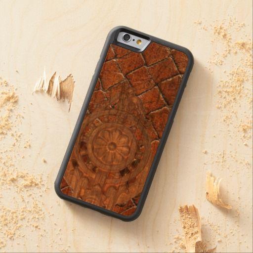 Steam Punk Cherry Wood Phone Case Cherry iPhone 6 Bumper Case