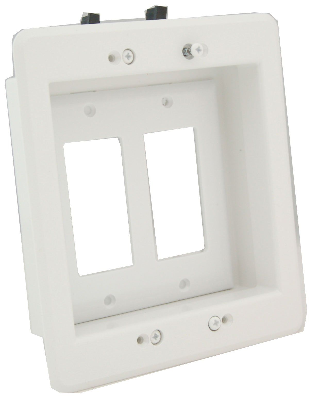 Bon Arlington LVU2W 1 Recessed Low Voltage Mounting Bracket With Paintable Wall  Plate, 2
