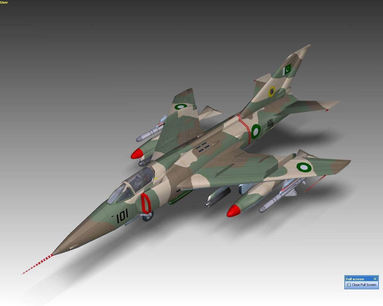 Pakistan Air Force Nanchang Hongdu A 5C Fantan