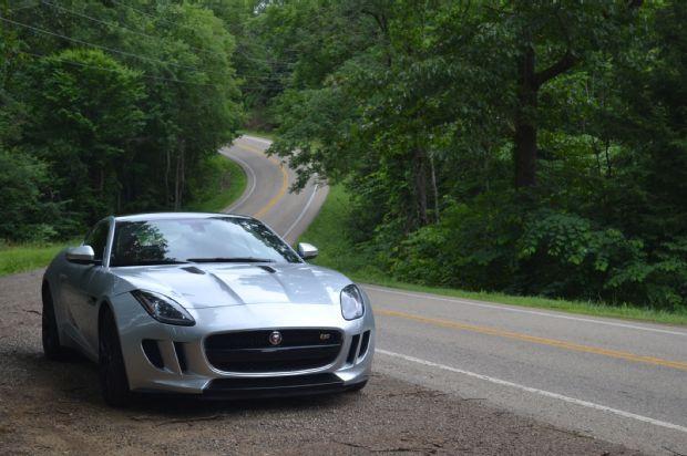 2015 Jaguar F-Type S Coupe - Showing its Miles
