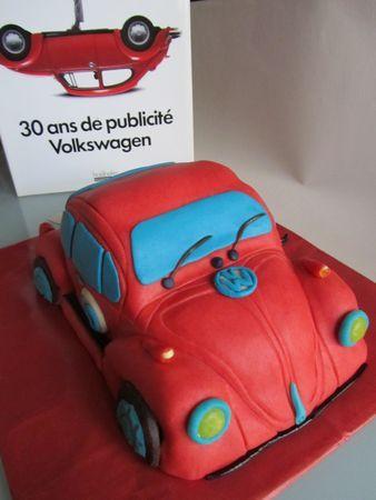 Gateau 3d voiture